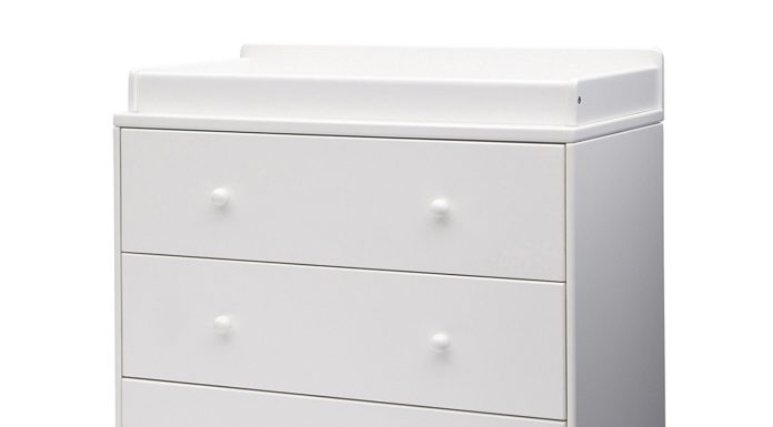 Delta Children Ava 3 Drawer Dresser with Changing Top