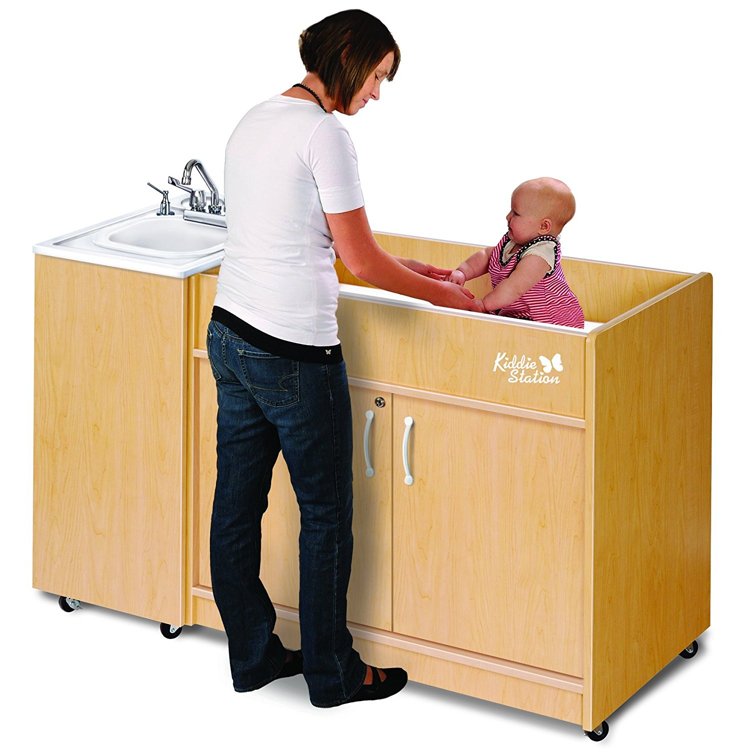 Ozark River Portable Sinks KSSTM-AB-AB1 Kiddie Station