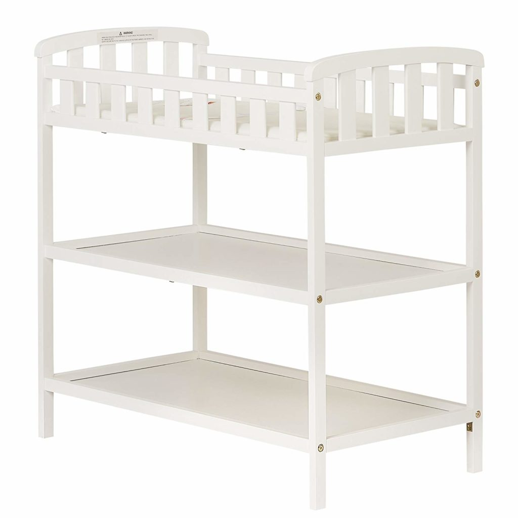 cheap white changing table
