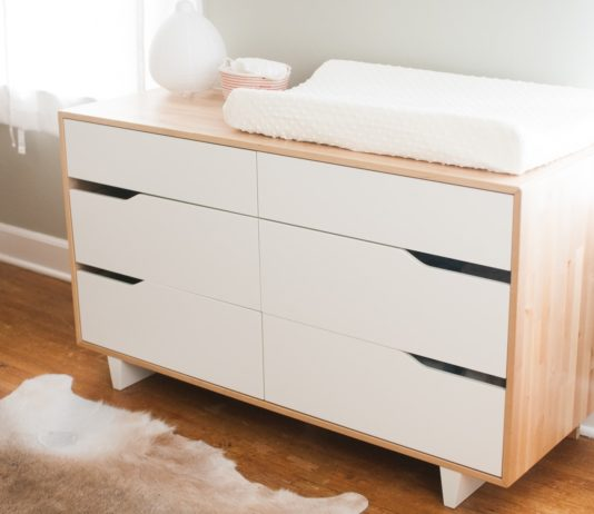 best white changing table