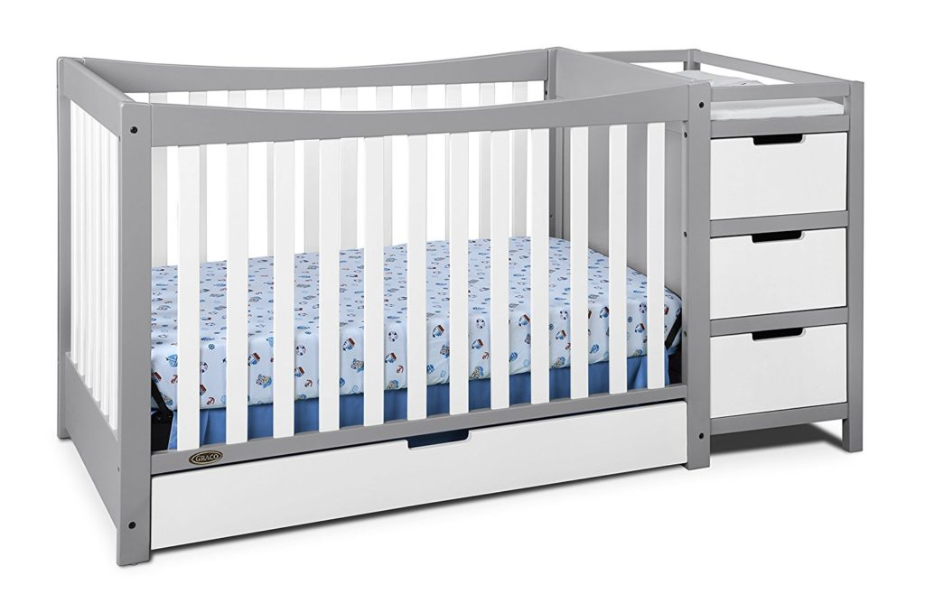 4-IN-1 GARCO REMI CONVERTIBLE CHANGER AND CRIB