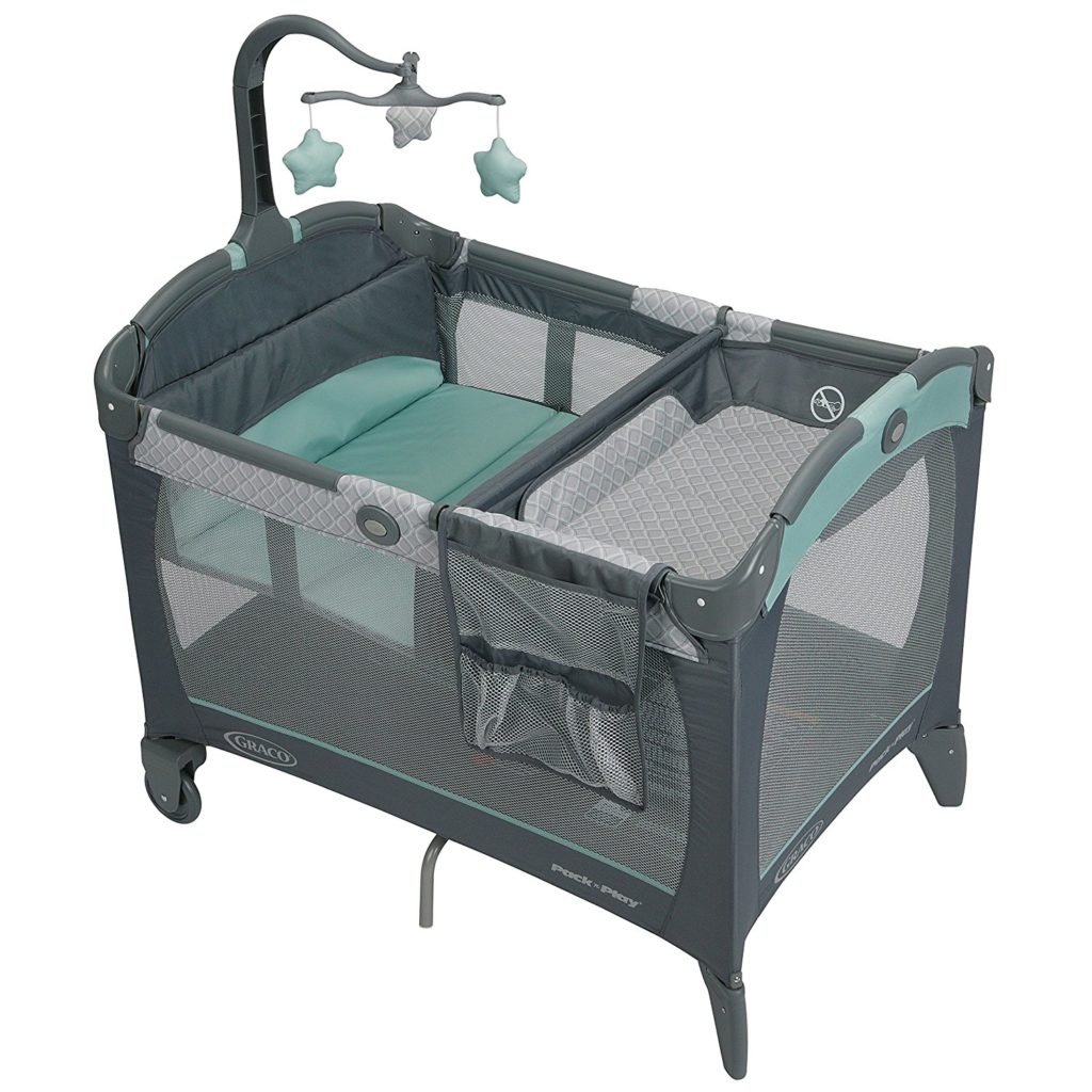 GRACO PLAYARD PACK N PLAY WITH A CHANGE N CARRY CHANGING PAD