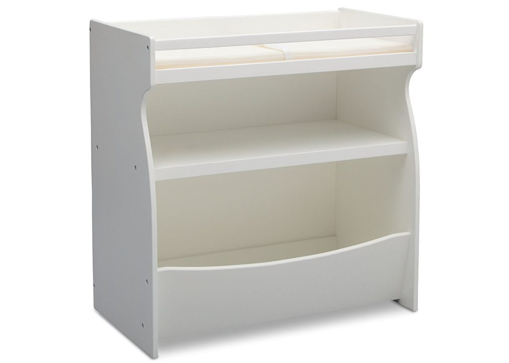 Delta Children 2-in-1 Changing Table and Storage Unit, Bianca review