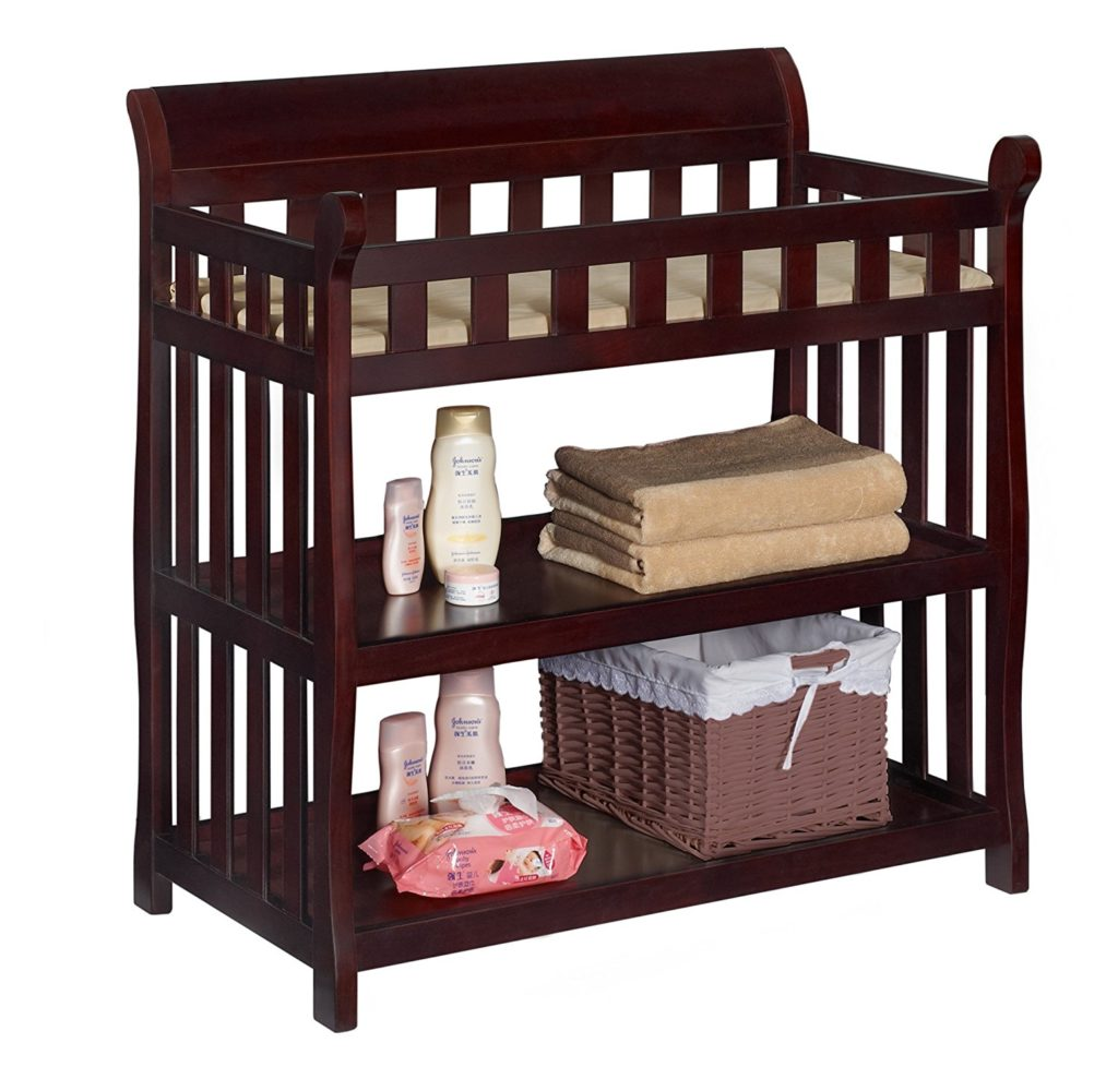 Delta Children Eclipse Changing Table, Espresso Cherry review