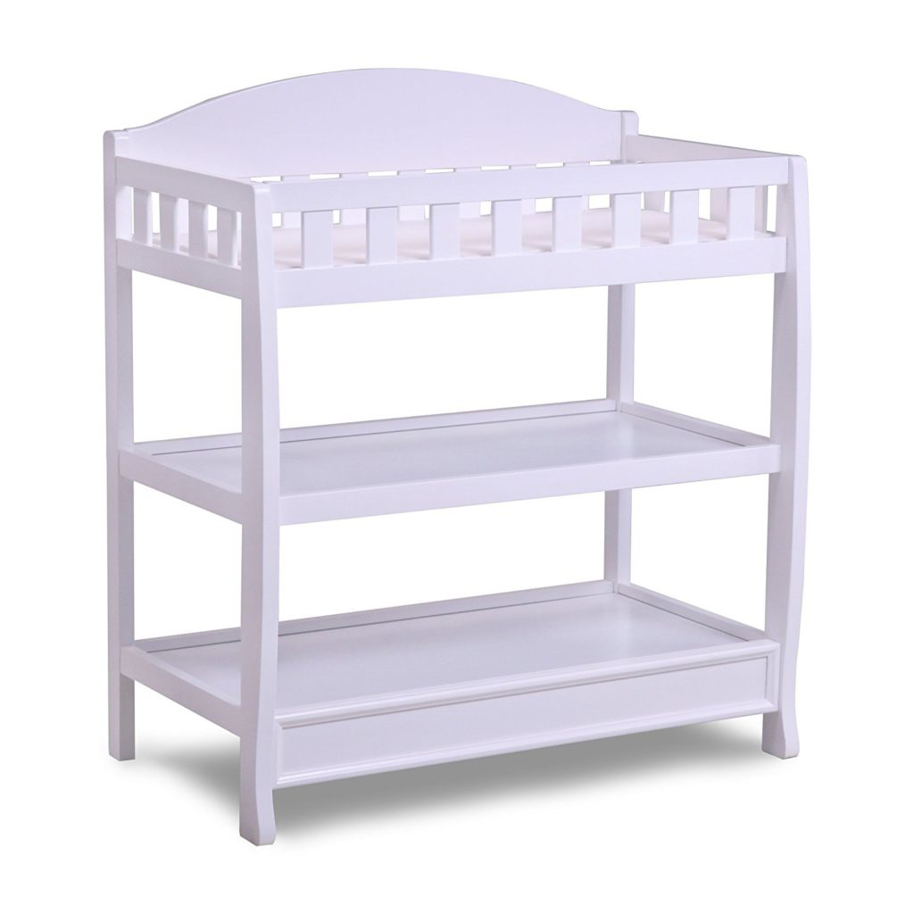 Delta Children Infant Changing Table with Pad, White review
