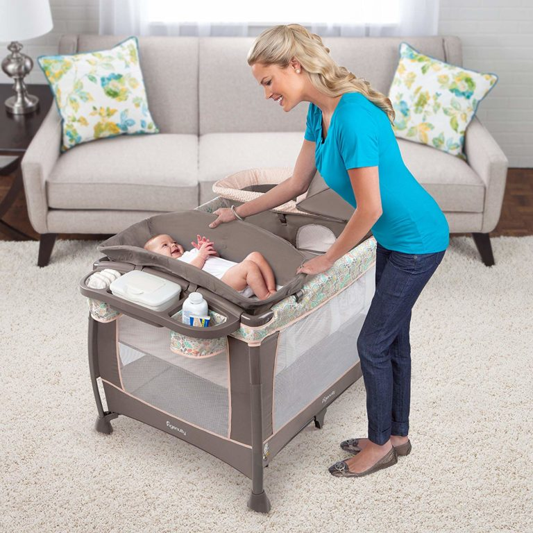 INGENUITY SOOTHE ME SOFTLY WASHABLE PLAYARD REVIEW