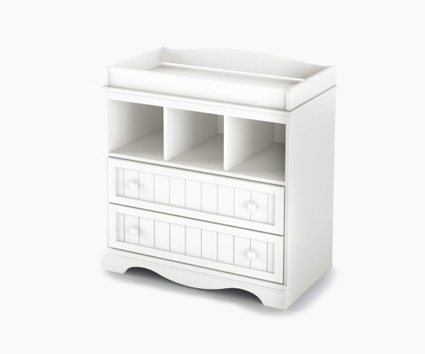 South Shore Savannah 2-Drawer Changing Table - a more fancy dresser styled changing table