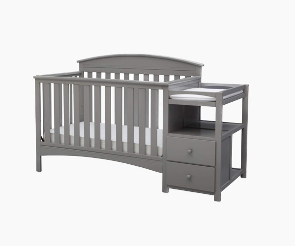 Delta Children Abby Convertible Crib 'N' Changer - versatility