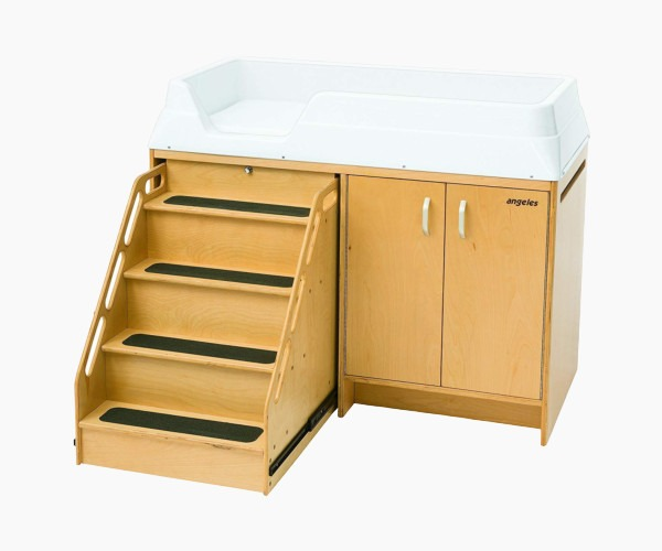 32. Angeles Changing Table with Locking Stair