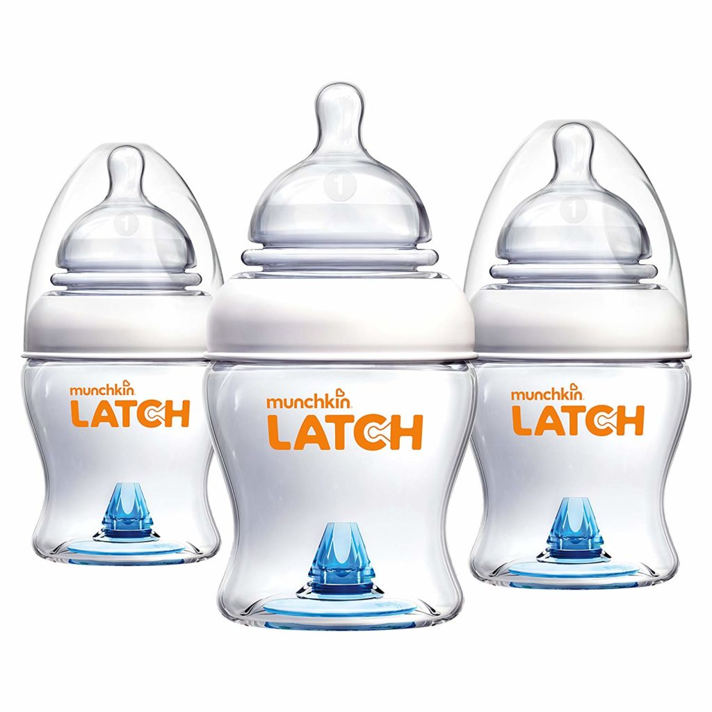 Munchkin Latch Anti-Colic Baby Bottle 3 Pack