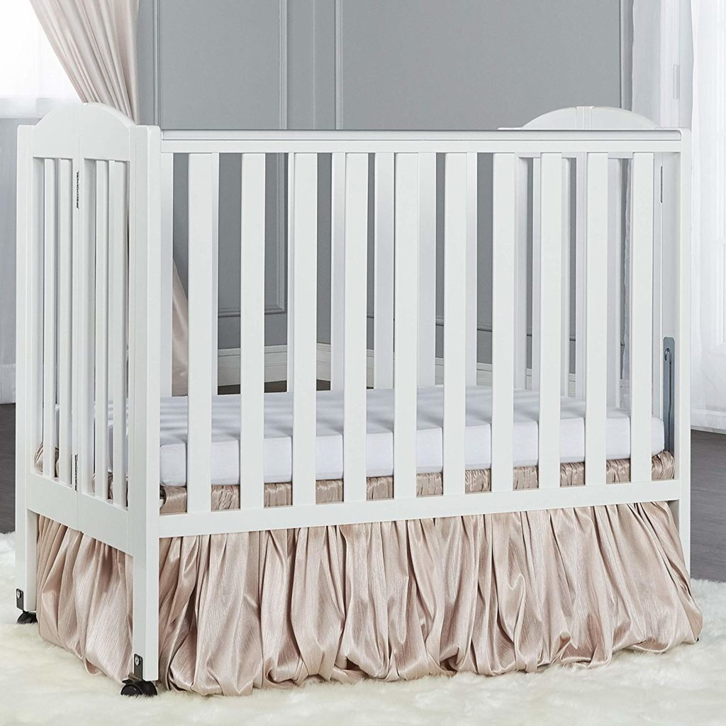 Dream On Me - 2 in 1 Portable Folding Stationary Crib