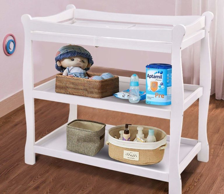 Costzon Baby 2-shelf Changing Table Review