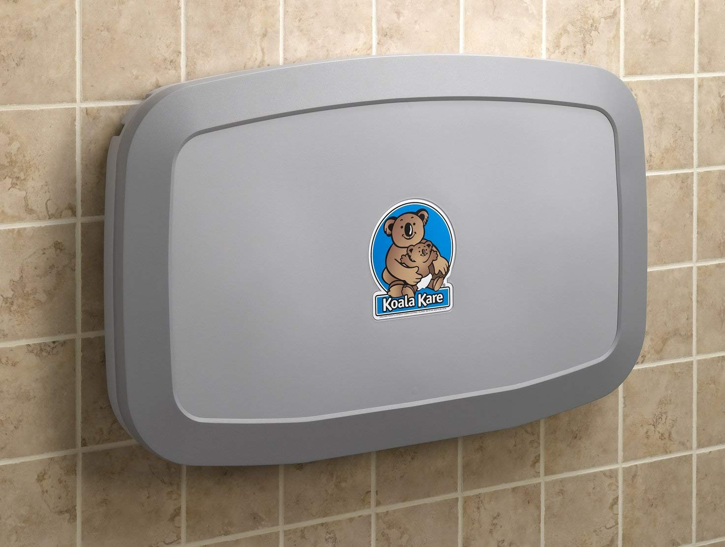 Badabulle Plouf Wall Mounted Changing Table with Changing Mat