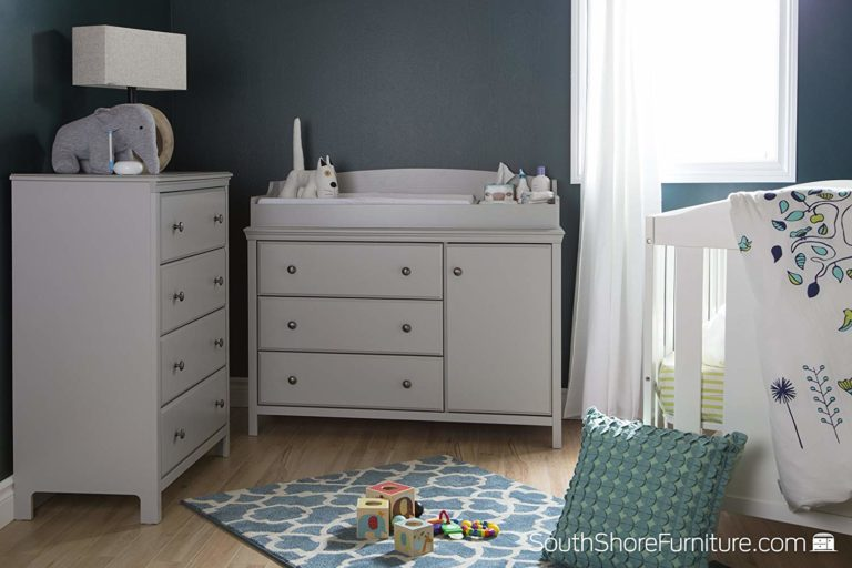 South Shore Cotton Candy Changing Table Review