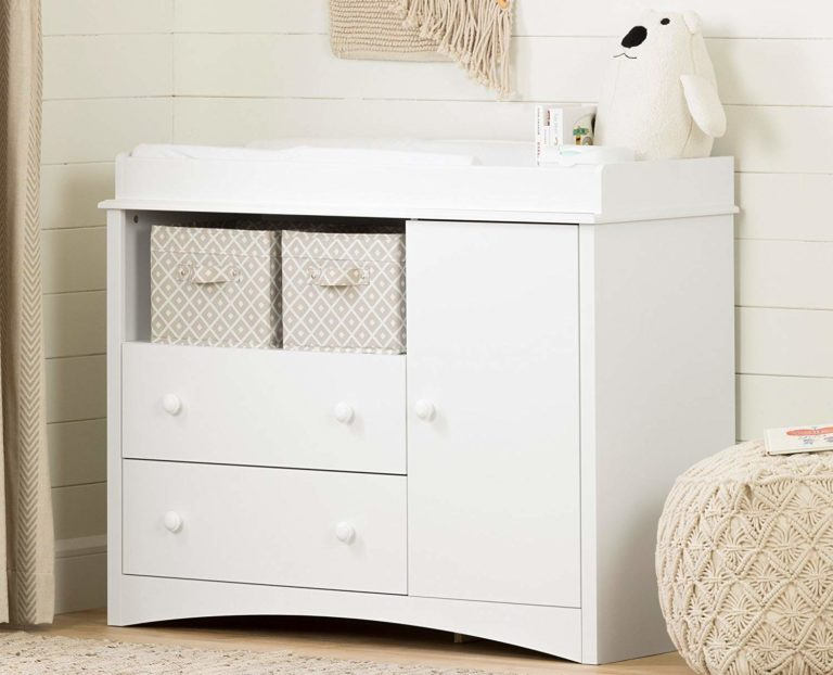 South Shore Peak-a-Boo Changing Table With Drawers Review