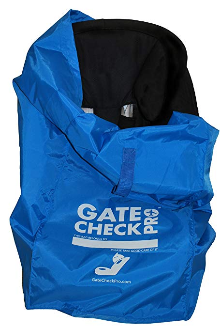 Gate Check PRO Car Seat Travel Bag | Ultra Durable & Lightweight| One Size Fits Most | Inc. Infant, Toddler & All-In-One Convertible Models | Invest In Stress Free Travel For You & Your Kids