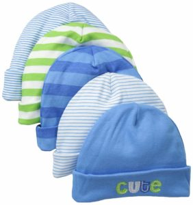 Gerber Baby Boys' 5 Pack Caps, best baby winter hat