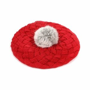 LOCOMO Baby Infant Boy Girl Knit Beanie Crochet Rib Pom Pom Hat Cap Warm, best baby hat for winter