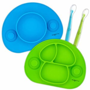 RIGSTYLE SILICONE FEEDING SET: DIVIDED PLATE