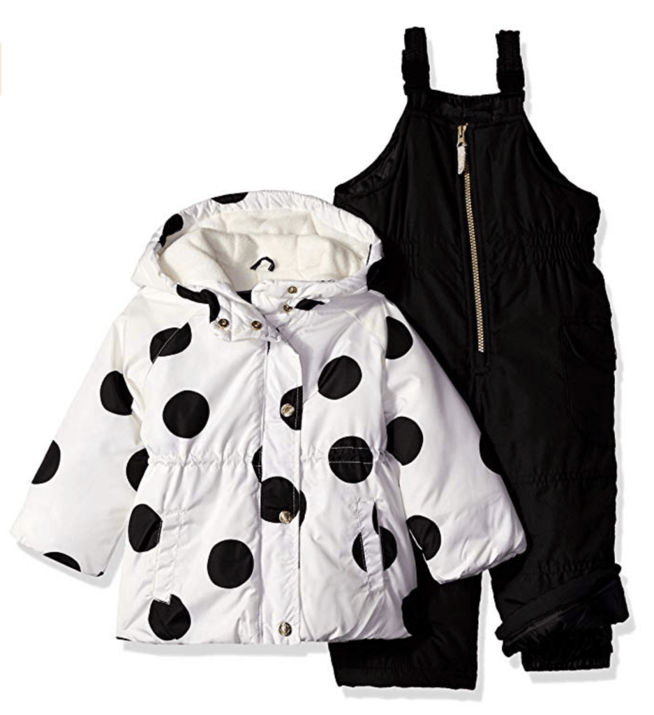 Carter's Baby Girl 2-Piece Printed Snowsuit