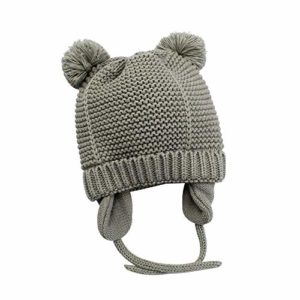 Zando Toddler Baby Winter Hat Soft Warm Earflap Beanies Infant Knit Cute Caps for Boys Girls, best baby winter hat