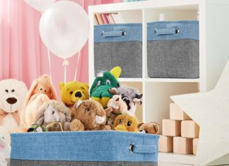best nursery storage baskets