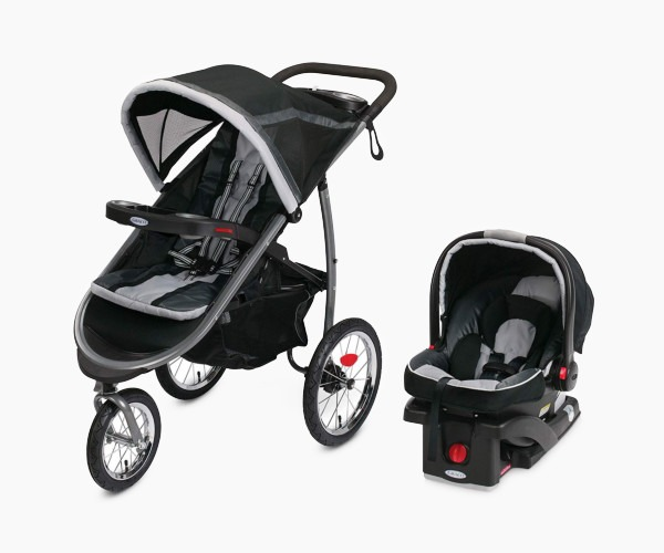 Fastaction Fold Jogger Click Connect Baby by Graco Travel System