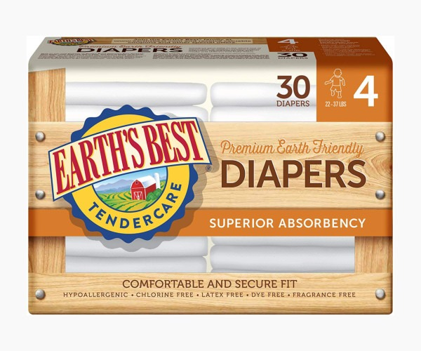 Earth's Best - TenderCare Chlorine-Free Diapers