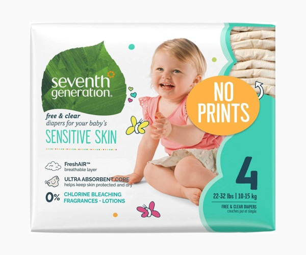 Seventh Generation - Best Sensitive Skin Baby Diapers