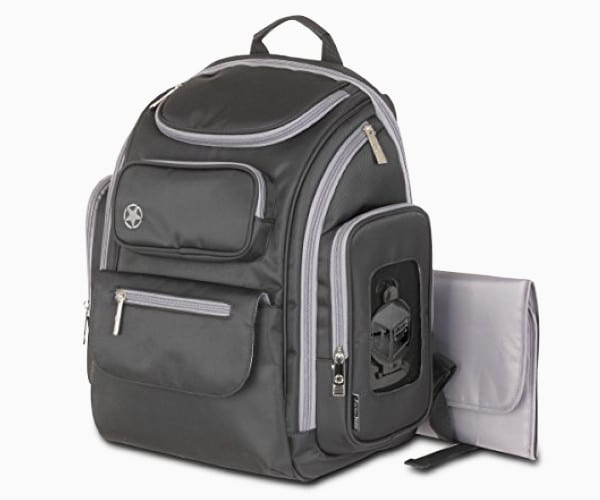 6. Perfect Pockets Backpack Diaper Bag from Jeep