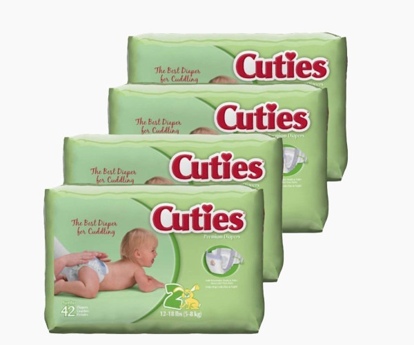 Cuties - Baby Diapers