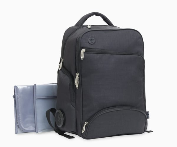 7. XLR8 Connect and Go Backpack Diaper Bag from Baby Boom