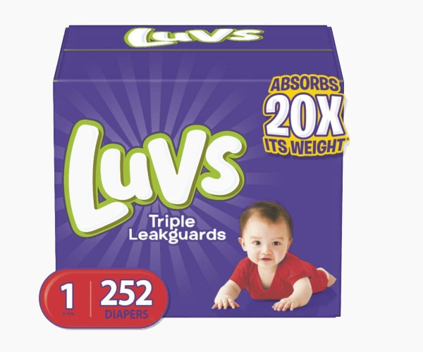 Luvs - Ultra Leakguards Newborn Diapers
