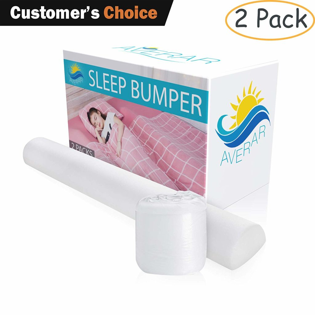 Averar Bed Bumpers for Toddlers