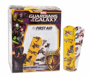 FirstAidGlobal.com - Marvel Guardians of the Galaxy Bandages - 100ct