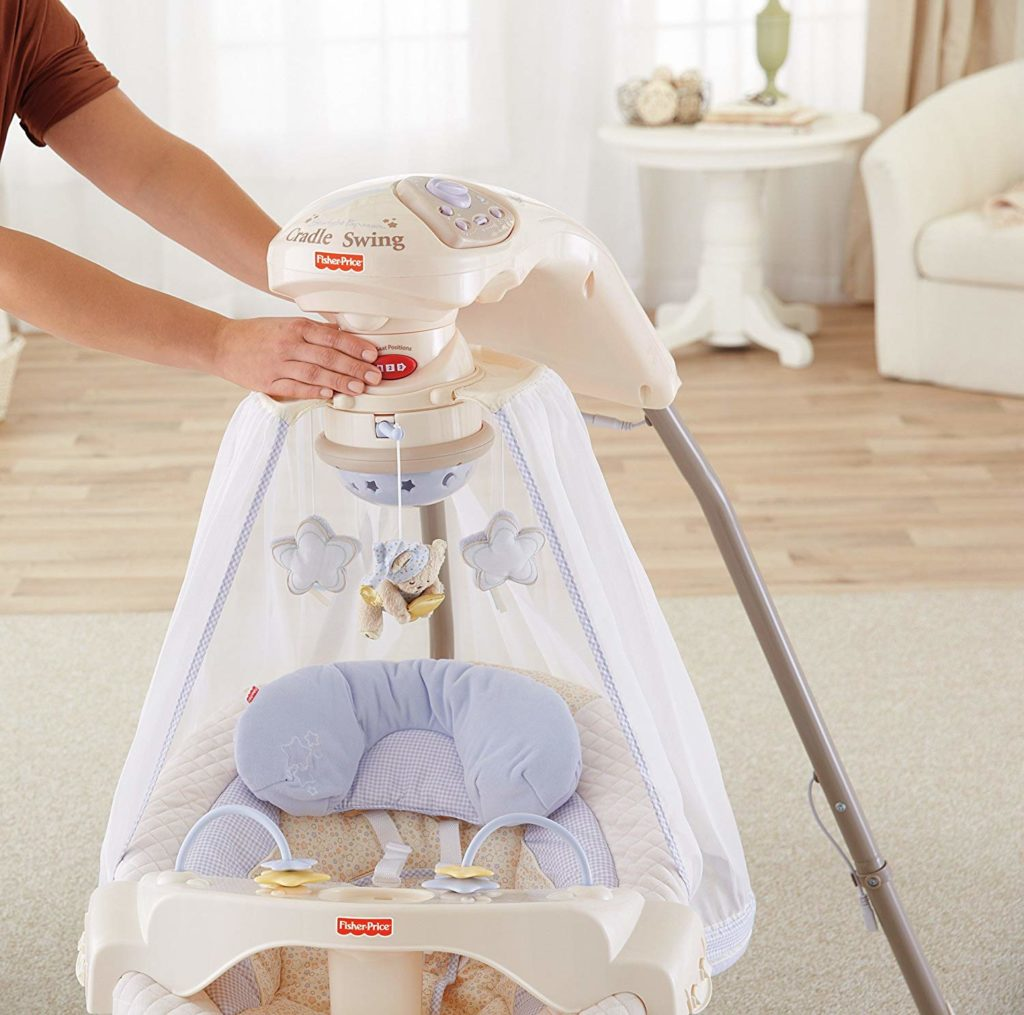 Fisher-Price Papasan Cradle Swing, Starlight
