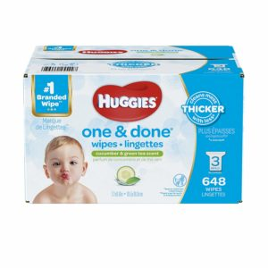 HUGGIES One & Done Scented Baby Wipes