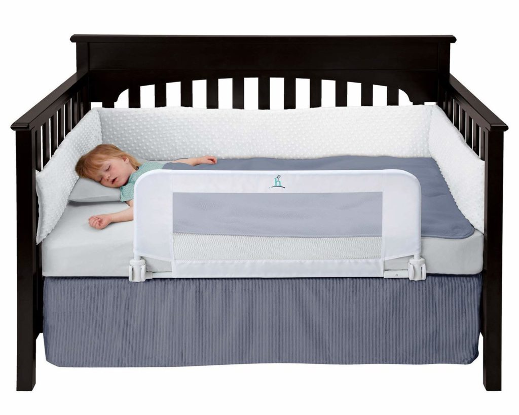 Hiccapop Safe Sleeper Convertible Toddler Crib/Bed Rail