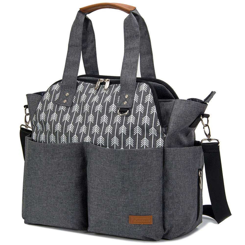 Lekebaby Large Diaper Bag Tote