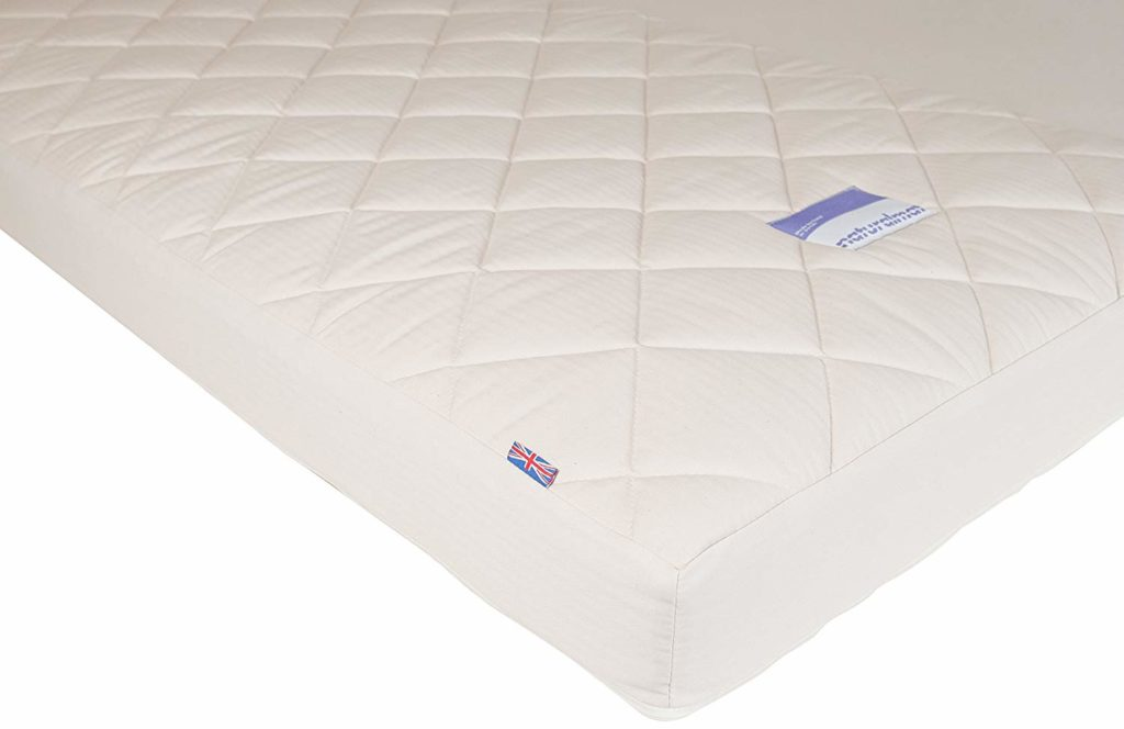 Naturalmat Organic Spring Crib Mattress