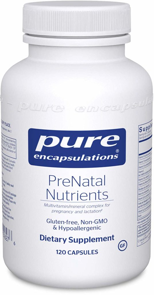 Pure Encapsulations - PreNatal Nutrients - Hypoallergenic Nutritional Support for Pregnancy