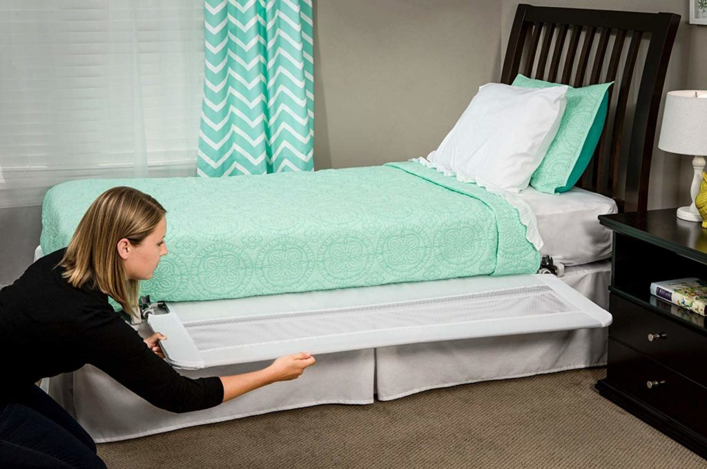 Regalo Hide Away Extra Long Toddler Bed Rail