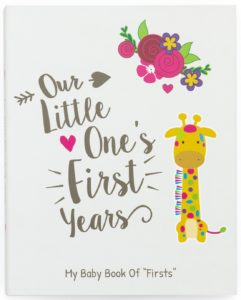 Ronica First Year Baby Memory Book & Baby Journal