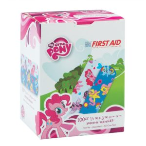 SmileMakers - My Little Pony Bandages - First Aid Supplies - 100 per Pack