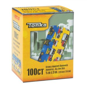 SmileMakers - Tonka Bandages - First Aid Supplies - 100 per Pack