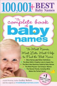 The Complete Book of Baby Names: The Most Names (100,001+)