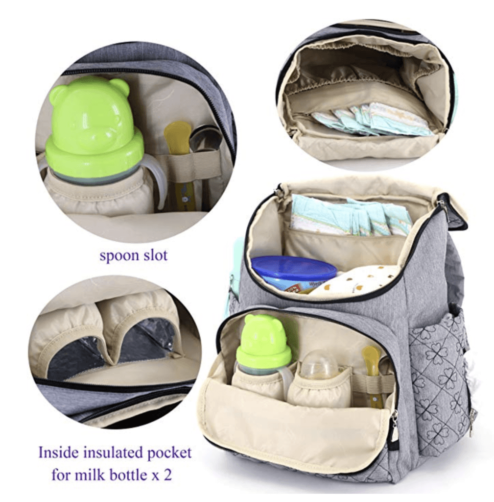 HYBLOM Diaper Bag Backpack