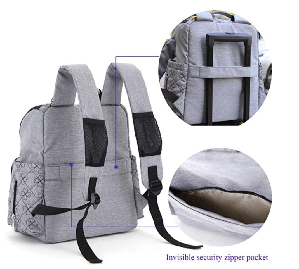 HYBLOM Diaper Bag Backpack Review
