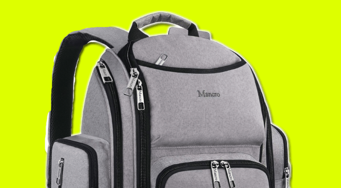 Mancro Diaper Bag Backpack Review