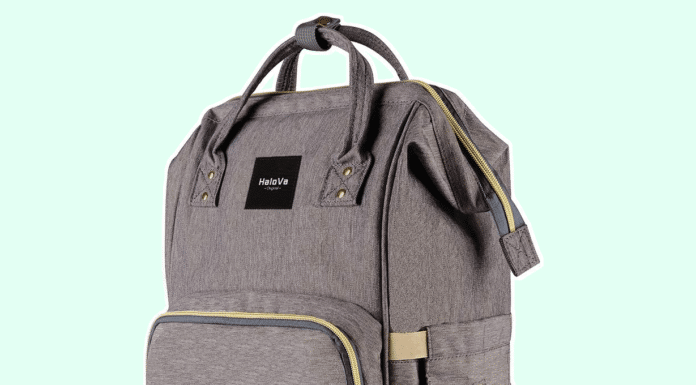 Halova Diaper Bag Multi Function Waterproof Backpack Review